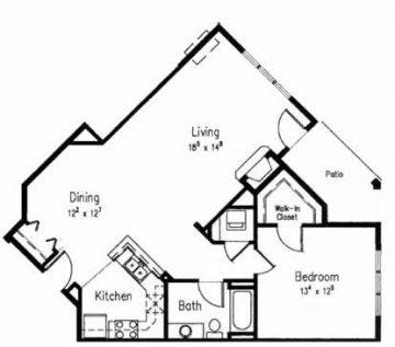 60D - One Bedroom